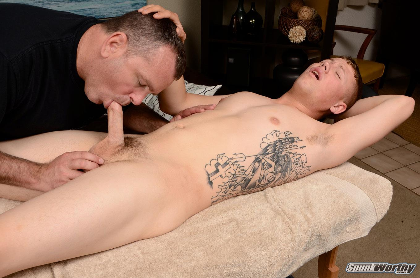 Amateur gay male massage first time 2