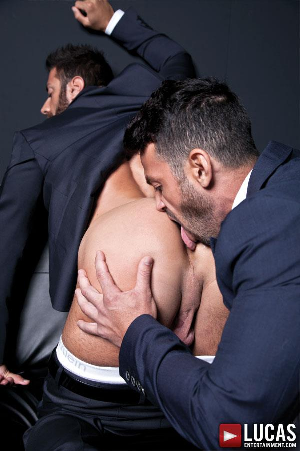 Lucas-Entertainment-Adriano-Carrasco-and-Valentino-Medici-Huge-Uncut-Cocks-Men-In-Suits-Fucking-Amateur-Gay-Porn-05 Hunks In Business Suits With Big Uncut Cocks Fucking Hard