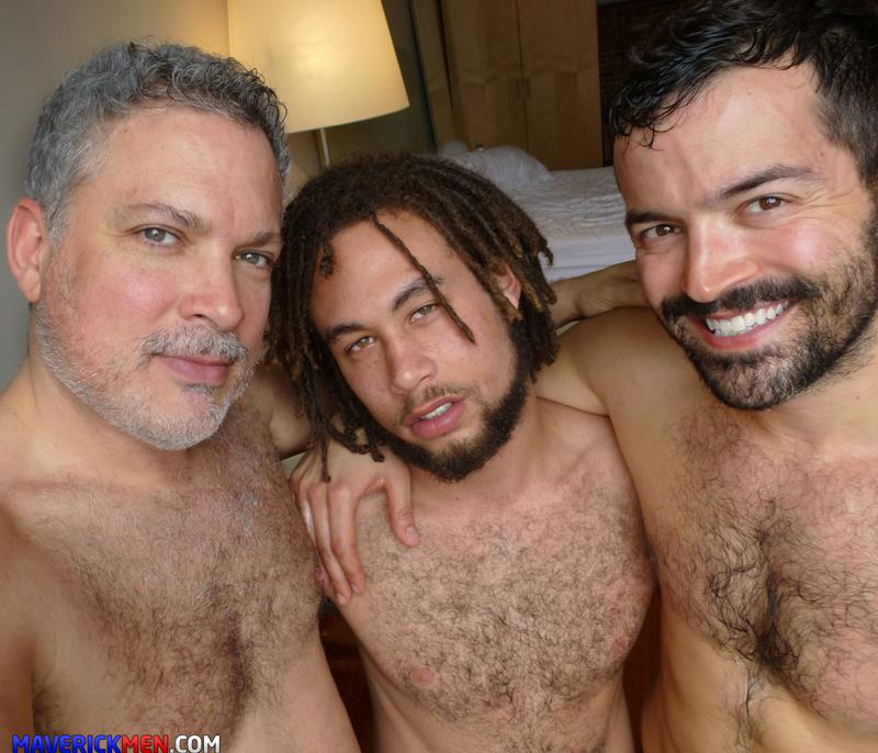 Maverick-Men-Dirk-Interracial-Bareback-Fucking-Big-Cocks-Amateur-Gay-Porn-5 Amateur Bisexual Hairy Mixed Guy Takes Two Raw Loads Up The Butt