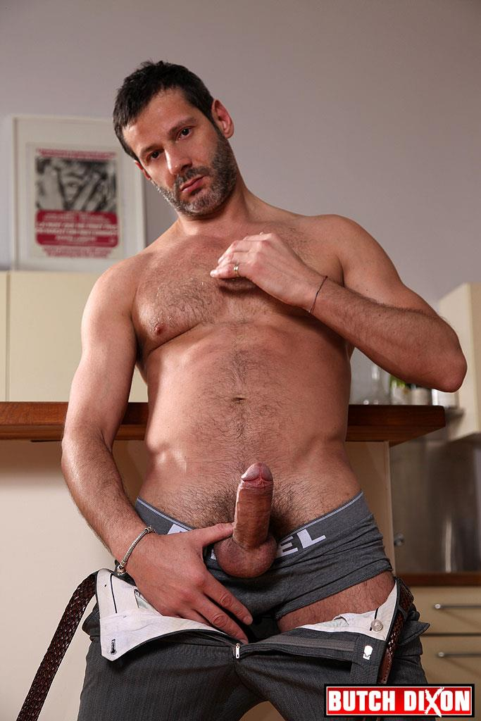 Butch Dixon Alex Marte and Antonio Garcia Beefy Hunks With Big Uncut Cocks Fucking Amateur Gay Porn 27 Beefy Burly Muscle Guys With Thick Uncut Cocks Fucking Hard