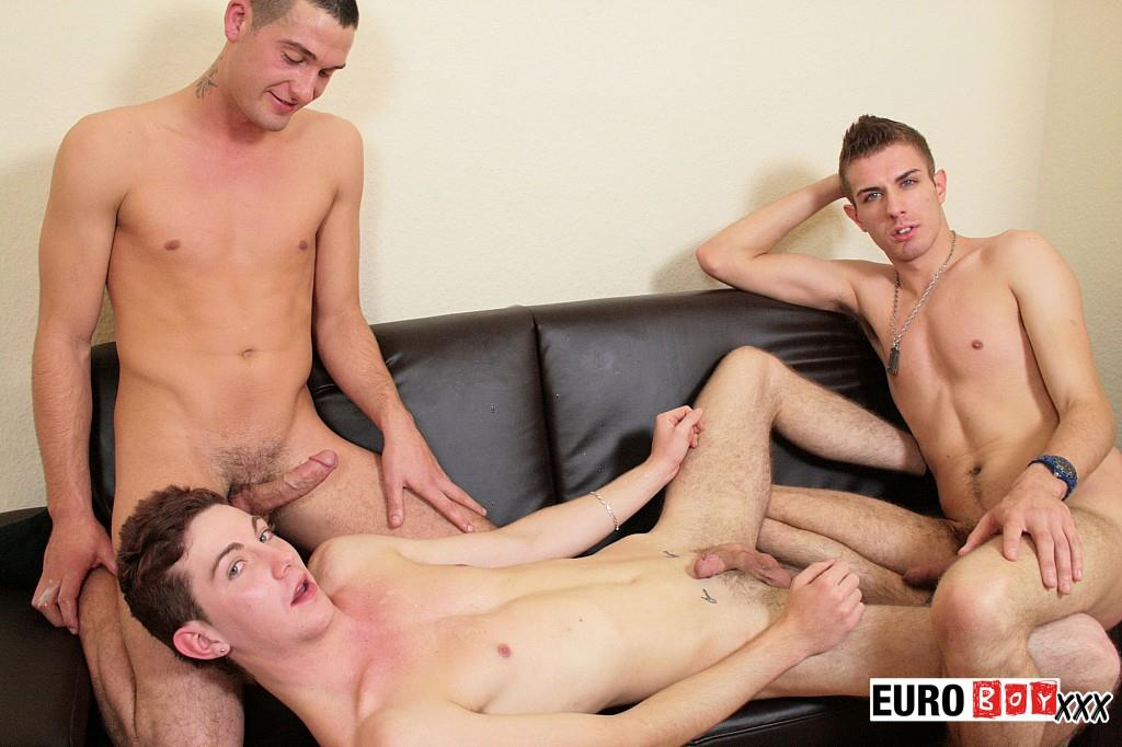 Euroboy XXX Threeway Twink Virgins With Big Uncut Cocks Fucking Amateur Gay Porn 22 Threeway Virgin Twinks With Huge Uncut Cocks Fucking