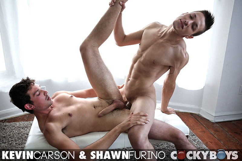 Cockyboys Shawn Furino and Kevin Carson Big Uncut Cock Guys Fucking Amateur Gay Porn 24 Two New Cockyboy Amatuers Make Their Gay Porn Debuts