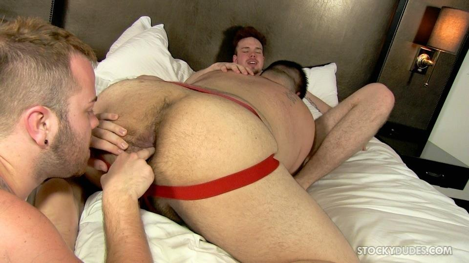 Stocky Dudes Brock Fulton and Craig Cruz and Zeke Johnson Chub Cub and Chaser Barebacking Amateur Gay Porn 10 A Chub, A Cub and A Chaser Bareback At A Hotel Orgy