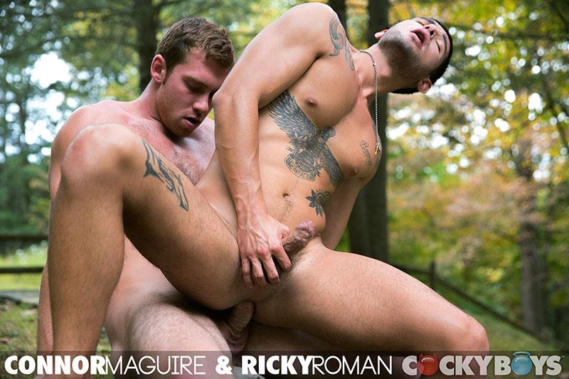 CockyBoys-Connor-Maguire-and-Ricky-Roman-Hunks-Fucking-With-Big-Uncut-Cocks-Amateur-Gay-Porn-50 Connor Maguire Fucking Ricky Roman With His Big Uncut Cock