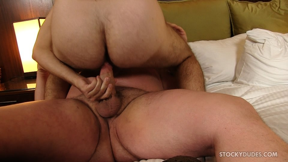 Stocky-Dudes-Colt-Woods-and-Zeke-Johnson-Chubby-Fat-Guy-Fucking-A-Hairy-Cub-Bareback-10 Chubby Guy With A Big Fat Cock Barebacks a Furry Cub