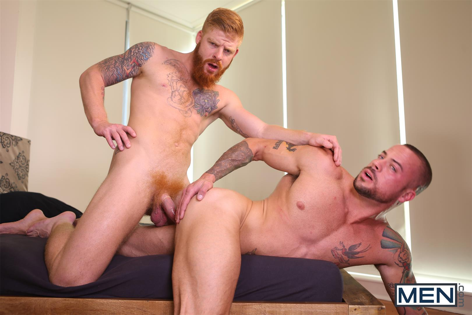 Men Bennett Anthony and Sean Duran Naked Redhead Muscle Guys Fucking Amateur Gay Porn 11 Bennett Anthony Fucking A Muscle Hunk With His Big Ginger Cock
