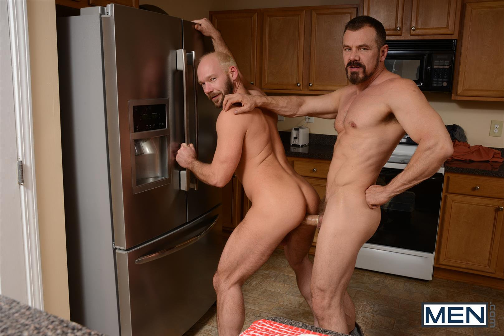 Men Drill My Hole Max Sargent and Mike Tanner Thick Cock Daddys Fucking Amateur Gay Porn 06 Hairy Muscle Daddys Fucking In The Kitchen And Eating Cum
