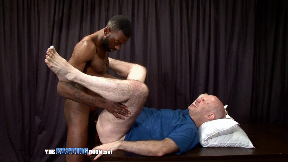 The-Casting-Room-Jospeh-Big-Black-Cock-Interracial-Fucking-White-Guy-Amateur-Gay-Porn-29 Black Guy Auditioning For Gay Porn Flip Flop Fucking With Big Uncut Cocks