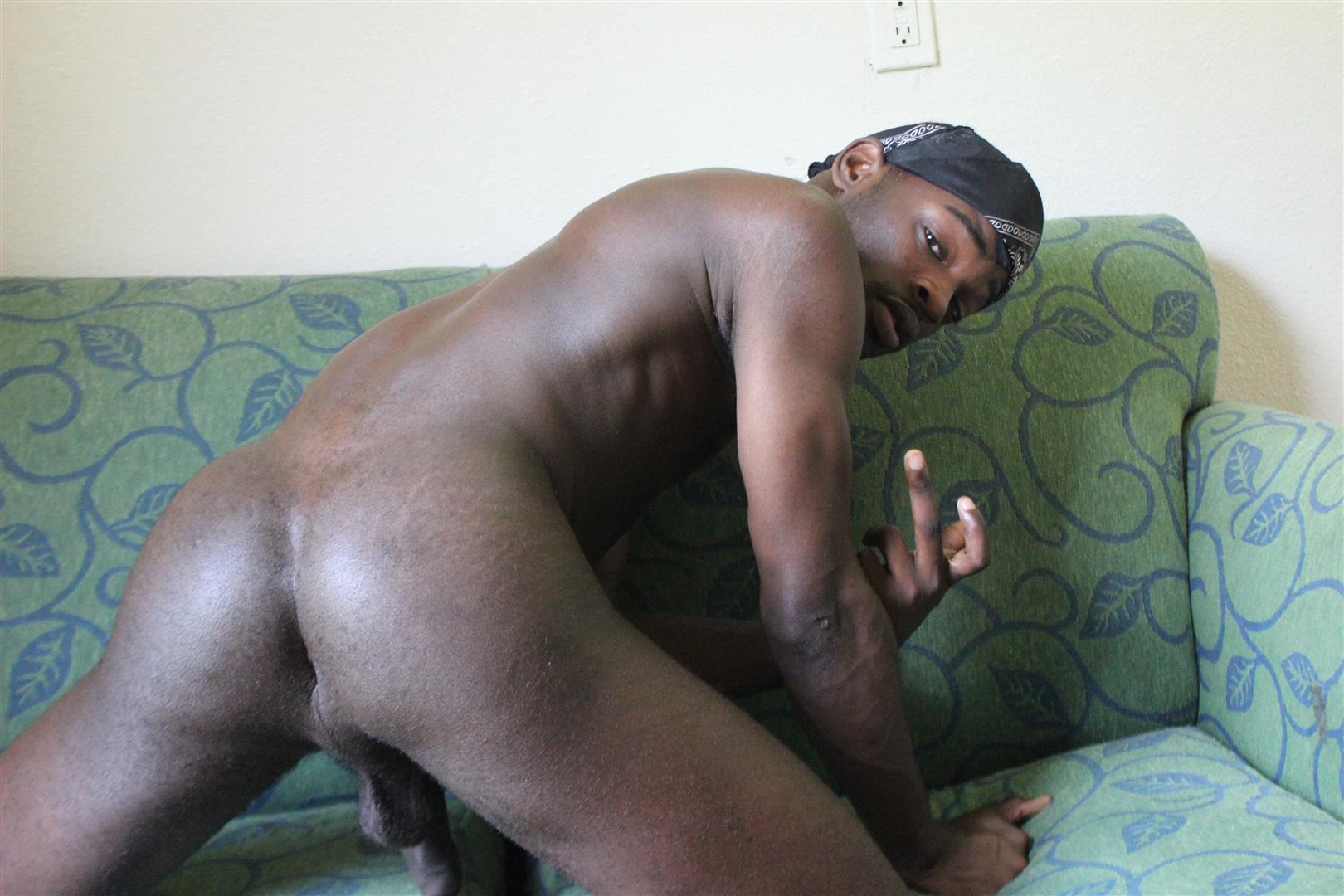 Traphouse-Boys-Brown-and-Carlos-Big-Black-Cock-Bareback-Amateur-Gay-Porn-04 DL Thugs Barebacking With Their Big Uncut Black Dicks
