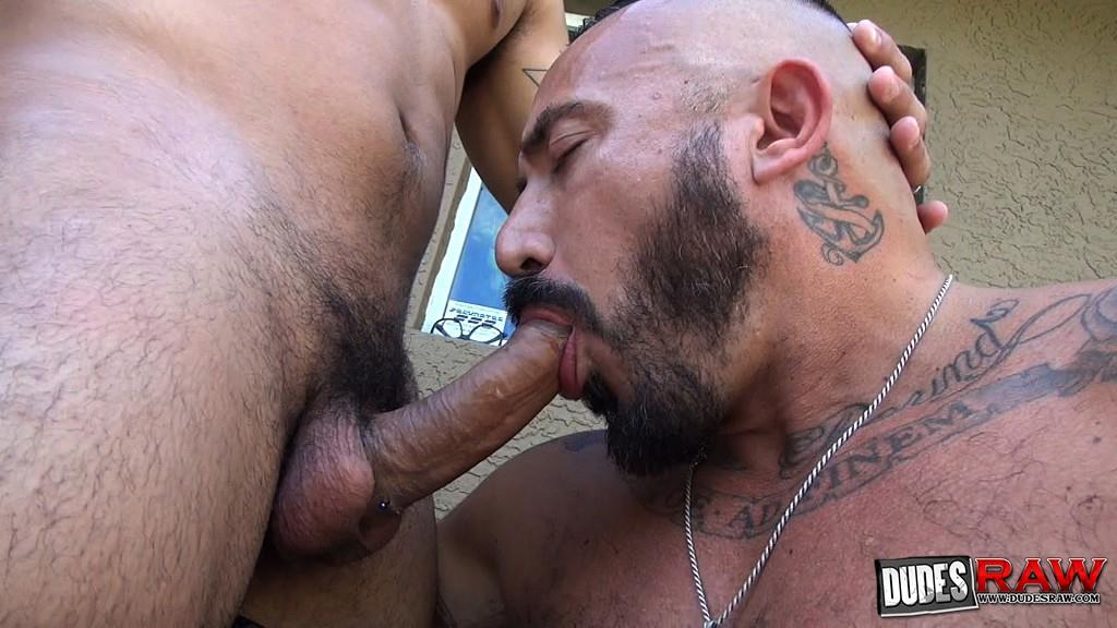 Dudes Raw Alessio Romero and Mario Cruz Bareback Muscle Daddy Latino Amateur Gay Porn 10 Muscle Daddy Alessio Romero Gets Bred By Mario Cruz