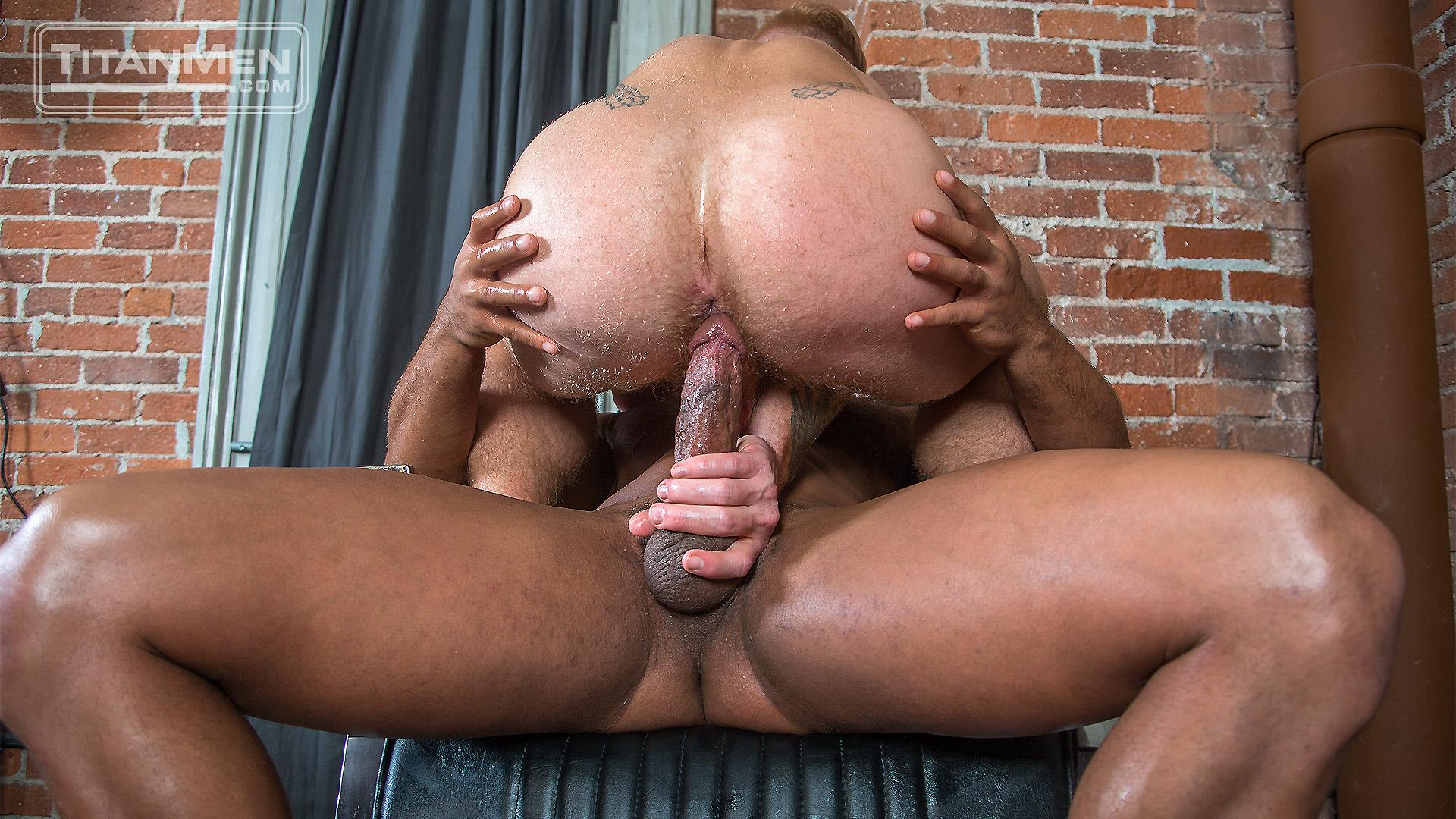 TitanMen Micah Brandt and Bennett Anthony Interracial Muscle Hunks Flip Fucking Amateur Gay Porn 16 Micah Brandt and Bennett Anthony Flip Fucking With Their Big Dicks