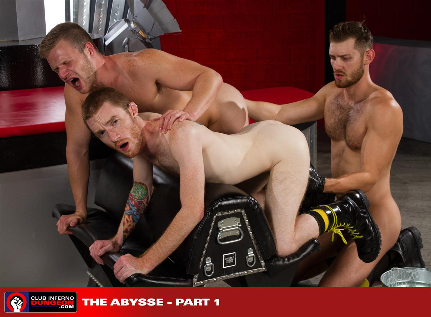 Clun Inferno Dungeon Brian Bonds and Seamus OReilly and Jacob Peterson Rimming and Fisting Amateur Gay Porn 14 Jacob Peterson Double Fists Brian Bonds and Seamus OReilly